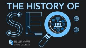 history of what is seo