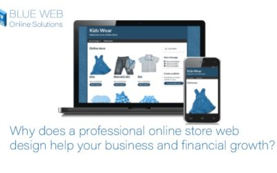 Why does a professional online store web design help your business and financial growth?