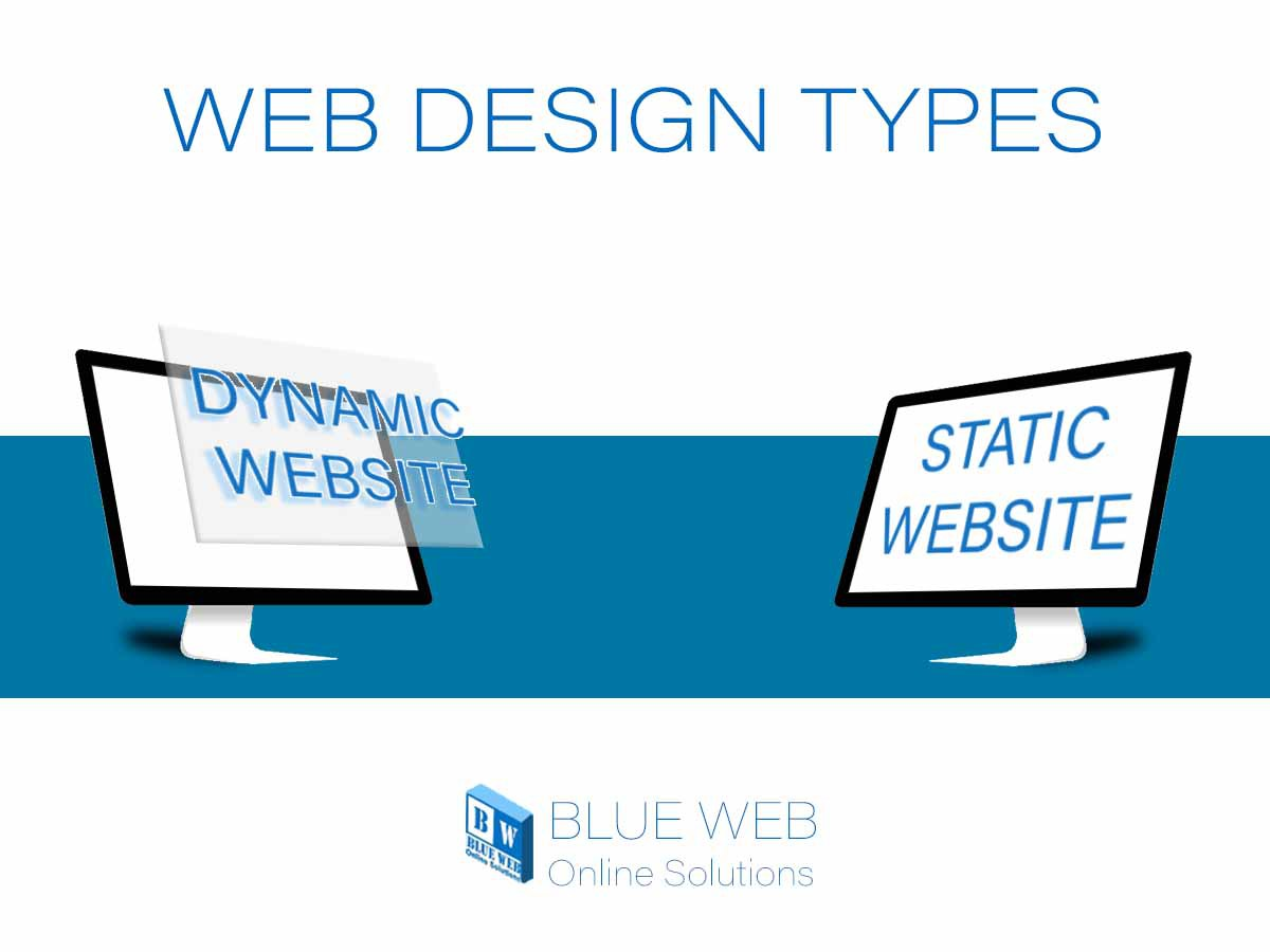 types of web design