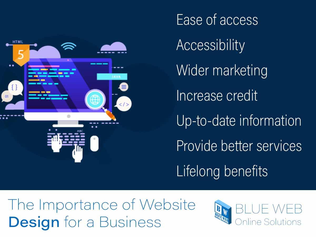 7 advantages of web design