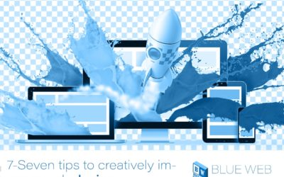 Seven tips to creatively improve web design