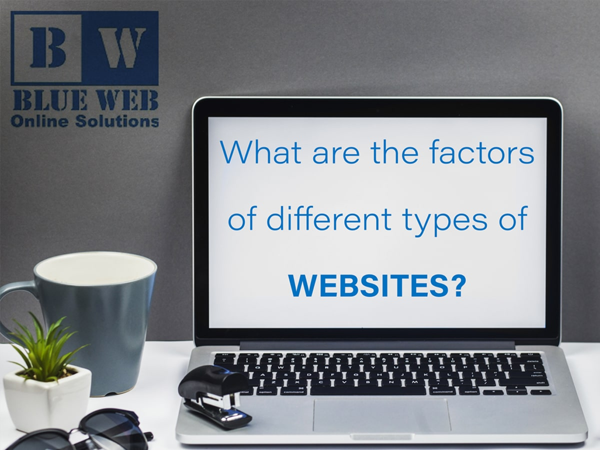 what are the factors of different types of websites?