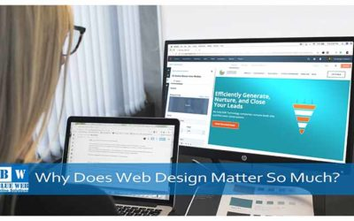 Web design importance | 4 Top Reasons Why Web Design Matters So Much?